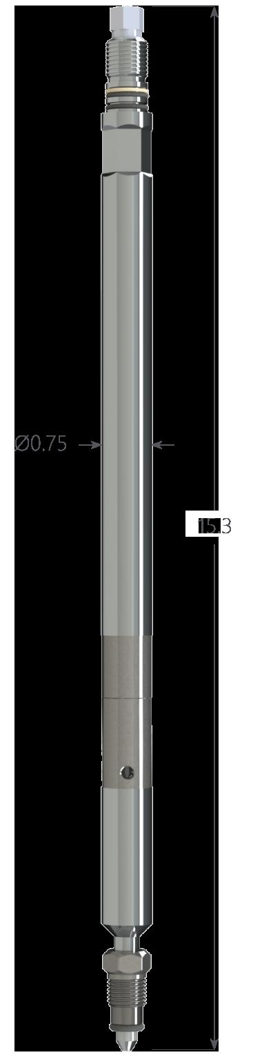 """0.75"""" Quartz II Pressure Gauge"""