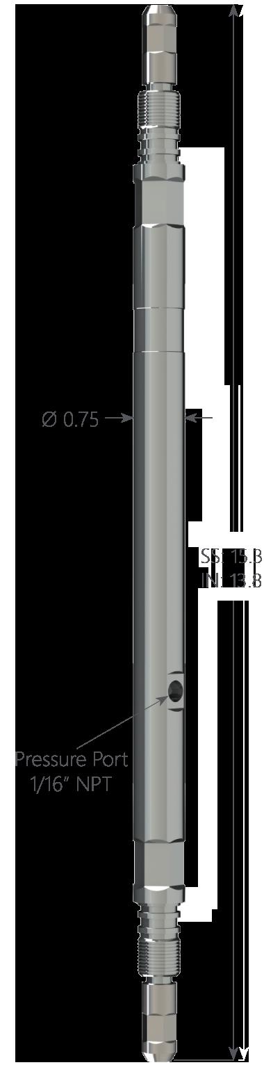 Multi-Gauge Passthru Piezo Tool