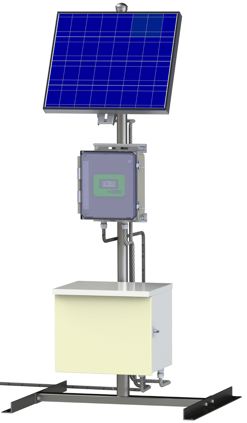 Solar Powered Surface Data Collection